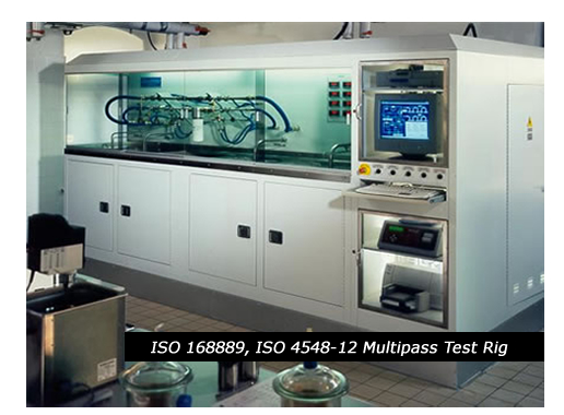SAE J1488/J1839/ISO/CD 16332 Multipass Test Rig